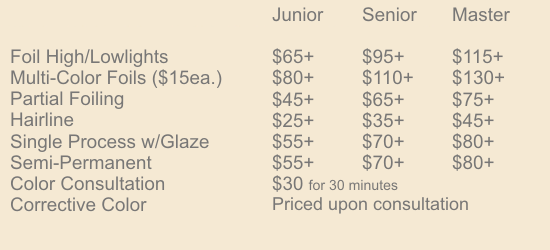 color-texture prices